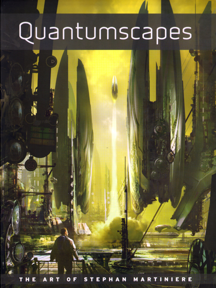 Quantumscapes Art Book by Stephan Martiniere available through DSP