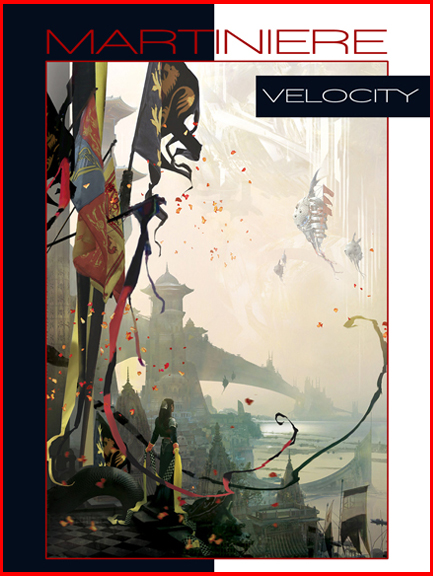 Velocity Limited Edition Art Book by Stephan Martiniere