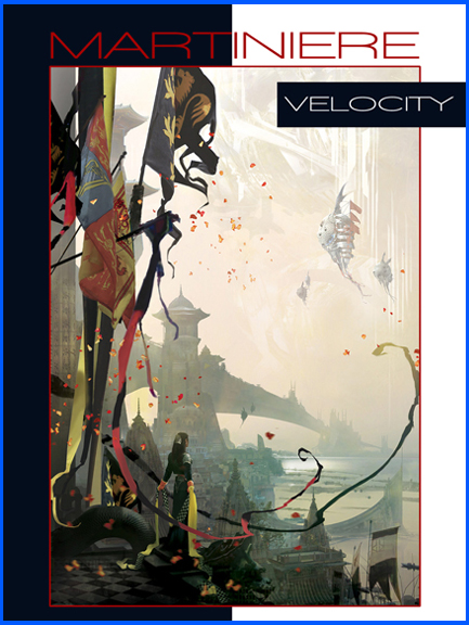 Velocity Art Book by Stephan Martiniere available through DSP